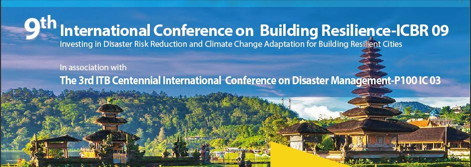3rd ITB Centennial International Conference on Disaster Management