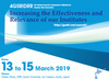 4th Global Summit of Research Institutes for Disaster Risk Reduction, 13 to 15 March 2019